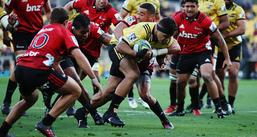 Hurricanes stamina outlasts the Crusaders
