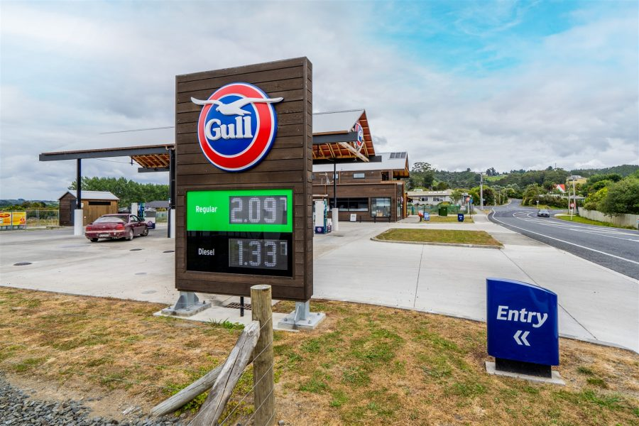Brand New Gull Service Station 17 + 17 year lease!